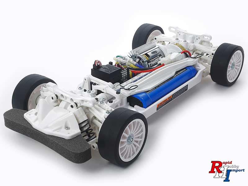 1:10 TT-02 Chassis Kit White Special Limited Edition