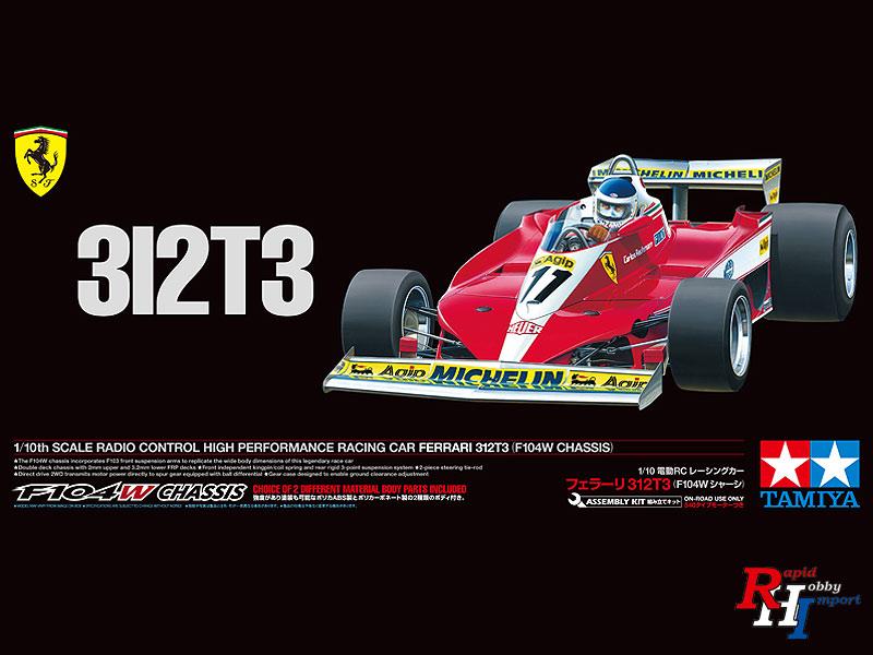 Tamiya 1:10 Ferrari 312T3 (F104W) Artikelnumber: 47374