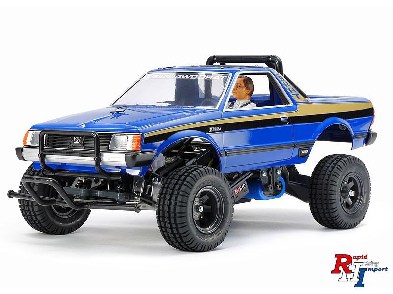 47413 1/10 R/C Subaru Brat Blue Version Kit