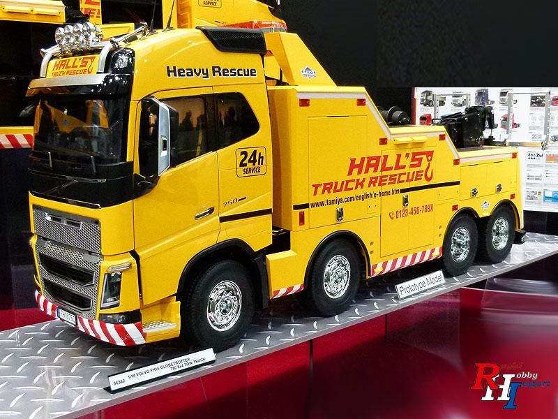 Tamiya 56362 1:14 RC Volvo FH16 Tow Truck 8x4