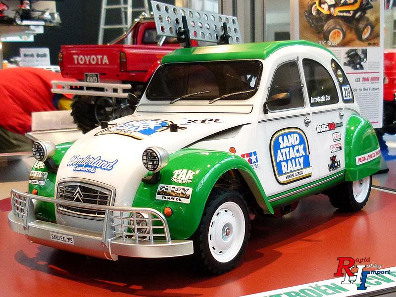 58670 1/10 Citroen 2CV Rally (M-05RA) Kit