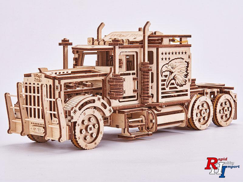 Wood Trick USA vrachtwagen