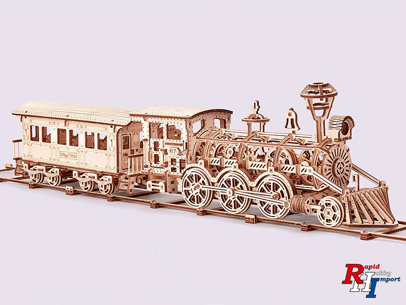 Wood Trick Locomotief R17