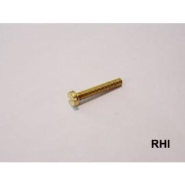 Brass screw M2,5x6 10pc
