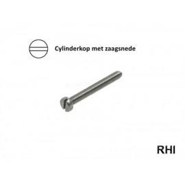 Cylinderschroef M2x4 A2