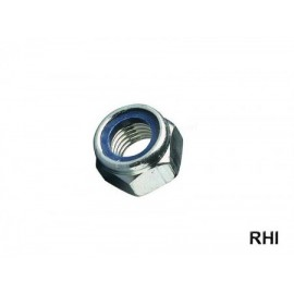 Nylon Insert Lock Nuts M2 A2 10pc.