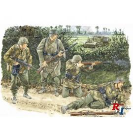 6155 1/35 WWII Fig.-Set Dt. Kampftgr. v.