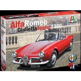 3653 1/24 Alfa Romeo Giulietta Spider