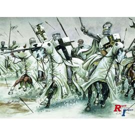6019 1/72 Crusaders 12th - 13th century