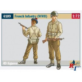 6189 1/72 French Infantry (WW II)