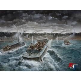 6524 1:35 LCVP mit US Infanterie