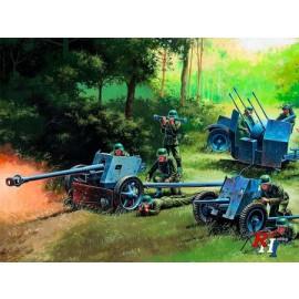 7026 1:72 German Guns Set: PAK35-P
