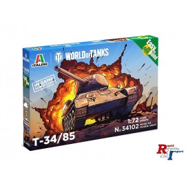 34102 1/72 T-34/85 WoT Fast Assembly Kit
