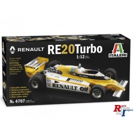 4707 1/12 Renault RE 20 Turbo