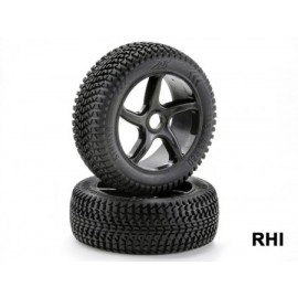 554150038 Wheel-1/8-Buggy-5-spoke-black-