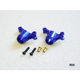 M05 Aluminium wielashouder blauw 2st.