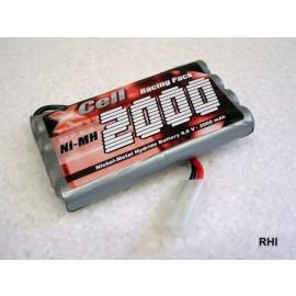 930809 9,6V 2000mAh NiMh Nikko accu m.