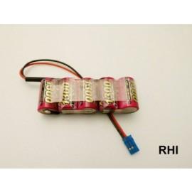 931505-12, X-Cell 6V 1300mAh Uni-