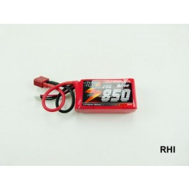 Lipo Cracker 11,1V 850mAh 25C 3S