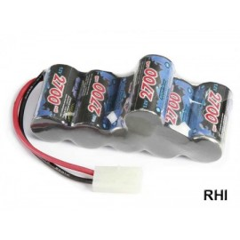 608097 Racing Pack 2700MAh, NiMH 7,2V