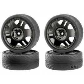 900025 1/10 Big wheelset drift zwart