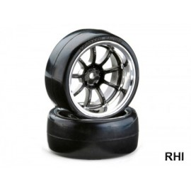 900615 1/10 Drift Wheelset OND 9 spaaks