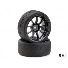 900616 1/10 Drift Wheelset 9 spaaks
