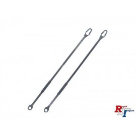 907374, 1/14 Steel Grab handle (2) low