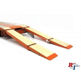 907376, 1/14 Steel ramp set Goldhofer