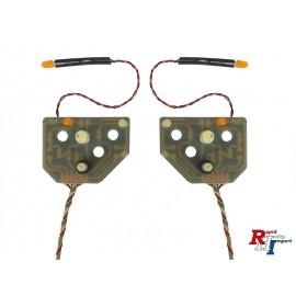 1/14 7,2V Arocs LED- schijnwerperplatine