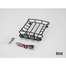 908145, Roof rack with 4x lights medium