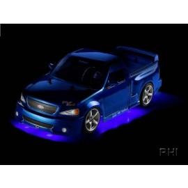 908155, Onderbodemverlichting LED blauw