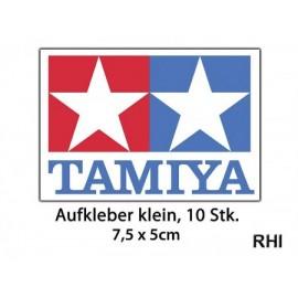 909056, TAMIYA-Sticker 75x50 mm klein