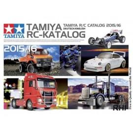 992015, TAMIYA RC Katalog 2016 DE/EN