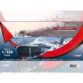 Mirage 350503 1/350 WWII U-107 German