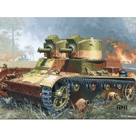 Mirage 35302 1/35 7TP Light Tank/Twin