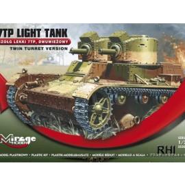 355002, 7TP Light Tank 'twin Turret WWII