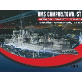 Mirage 400608 1/400 HMS Campeltown St.
