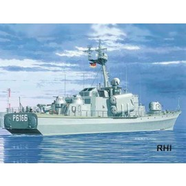 1/400 1970 Hiddensee German Navy