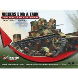 Mirage 726003 1/72 WWII Vicker E MK A
