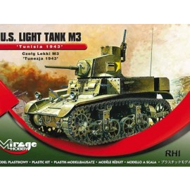 1/72 WWII  U.S. Light Tank M3  'TUNISIA