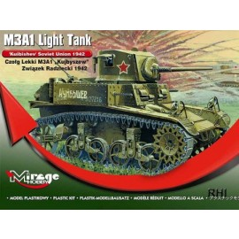 Mirage 726074 1/72 WWII M3A1 Light Tank