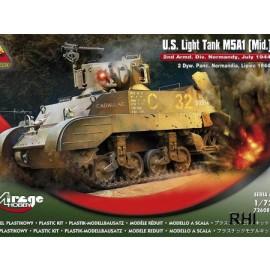 726086, U.S. Light Tank M5A1 (Mid.)
