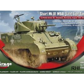 726089, 1/72 M5A1 (Late)'Stuart Mk.VI'