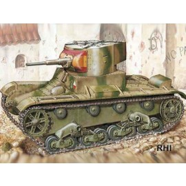 Mirage 72609 1/72 WWII T-26 light Tank