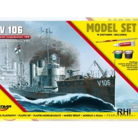 840064 1/400 German Torpedoboot WW1