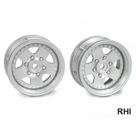 0445516,  1/10 Wheels silver 26mm (2)