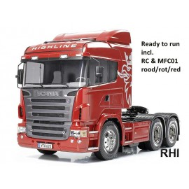 23670 1:14 Scania R620 rood RTR (MFC-