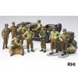 32552, 1/48 WWII U.S. Infantry