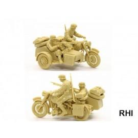 32578, 1/48 Motorrad mit Beiwagen